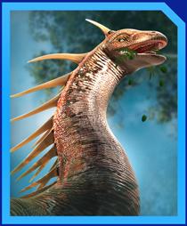 Jurassic World Alive Amargasaurus
