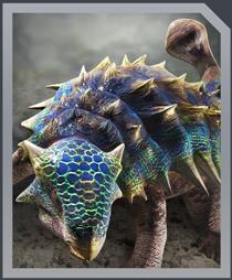 Jurassic World Alive Ankylosaurus Gen2
