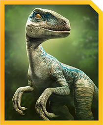Jurassic World Alive Blue
