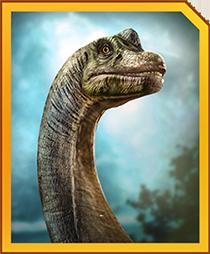 Jurassic World Alive Brachiosaurus
