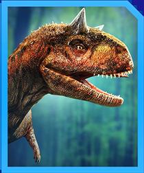 Jurassic World Alive Carnotaurus