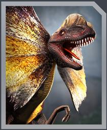 Jurassic World Alive Dilophosaurus Gen2