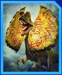 Jurassic World Alive Dilophosaurus