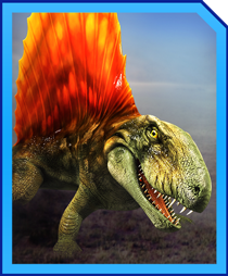 Jurassic World Alive Dimetrodon