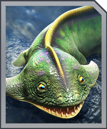 Jurassic World Alive Diplocaulus