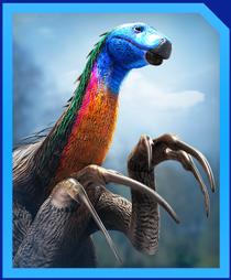 Jurassic World Alive Erlikosaurus Gen2