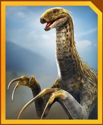 Jurassic World Alive Erlikosaurus