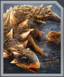 Jurassic World Alive Euoplocephalus