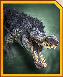 Jurassic World Alive Gryposuchus