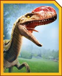Jurassic World Alive Monolophosaurus