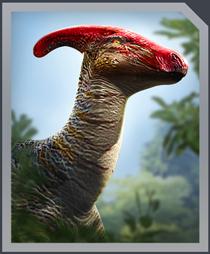 Jurassic World Alive Parasaurolophus