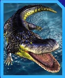 Jurassic World Alive Purussaurus