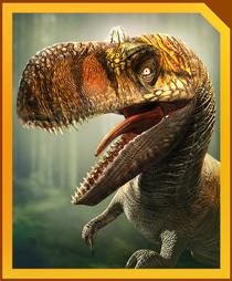 Jurassic World Alive Rajasaurus