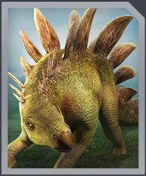Jurassic World Alive Stegosaurus