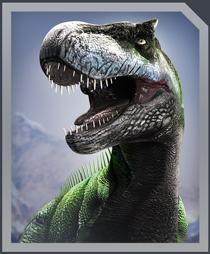 Jurassic World Alive Tarbosaurus