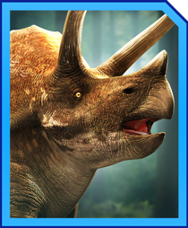 Jurassic World Alive Triceratops