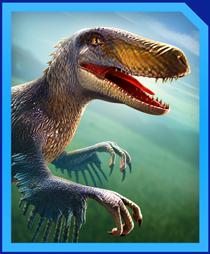 Jurassic World Alive Utahraptor