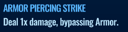 Jurassic World Alive Armor Piercing Strike move description