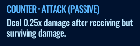 Jurassic World Alive Counter-Attack 0.25 Passive move description