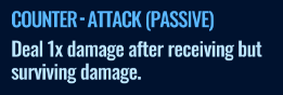 Jurassic World Alive Counter-Attack Passive move description
