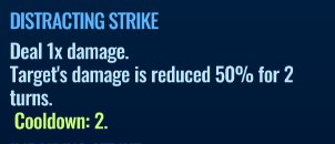 Jurassic World Alive Distracting Strike move description