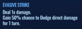 Jurassic World Alive Evasive Strike move description