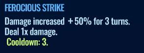Jurassic World Alive Ferocious Strike move description