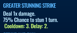 Jurassic World Alive Greater Stunning Strike move description