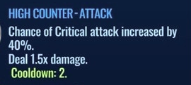 Jurassic World Alive High Counter-Attack move description