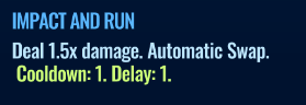 Jurassic World Alive Impact And Run move description