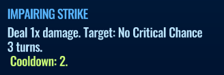 Jurassic World Alive Impairing_Strike move description