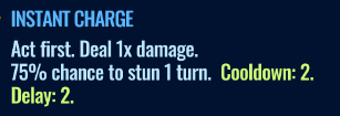 Jurassic World Alive Instant Charge move description