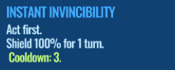 Jurassic World Alive Instant Invincibility move description