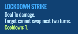 Jurassic World Alive Lockdown_Strike move description