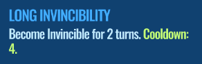 Jurassic World Alive Long Invincibility move description