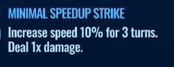 Jurassic World Alive Minimal Speedup Strike move description