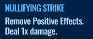 Jurassic World Alive Nullifying Strike move description
