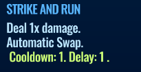 Jurassic World Alive Strike And Run move description