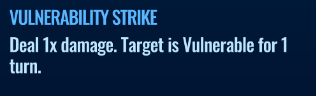 Jurassic World Alive Vulnerability Strike move description