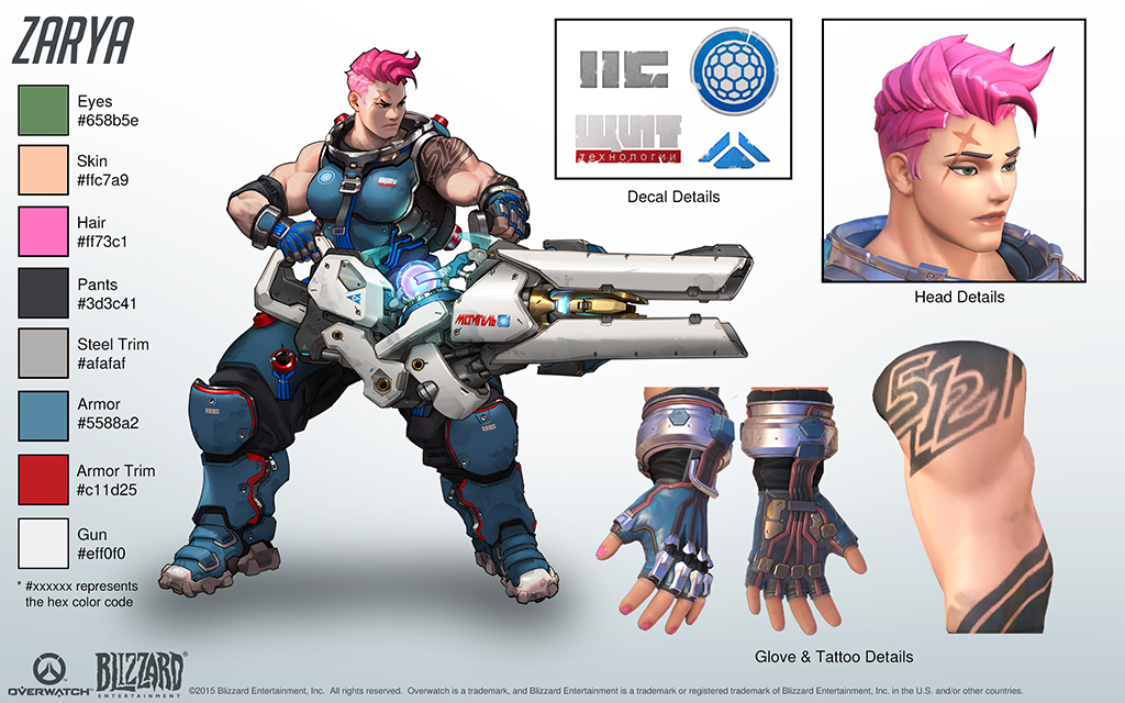 Image result for zarya