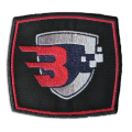 Battle Calculator Unit_Badge embroidered