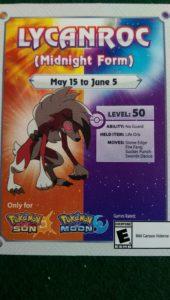 Free Pokemon Sun Moon Promo Code