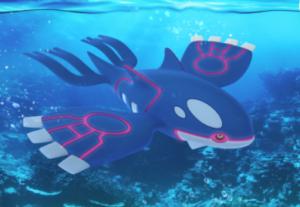 Pokemon Go 180112 Kyogre RAID