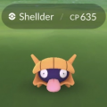 Pokemon Go 180607 Shellder Shiny