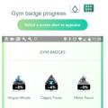 Pokemon Go Gym Badge List Checker Results